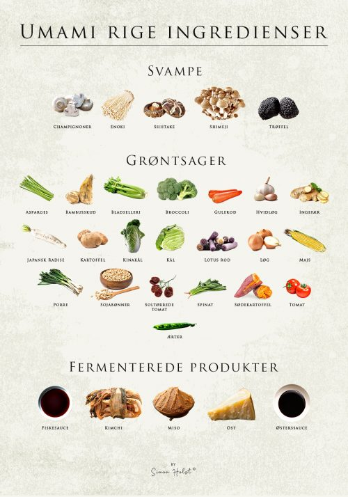 Umami Rige Ingredienser