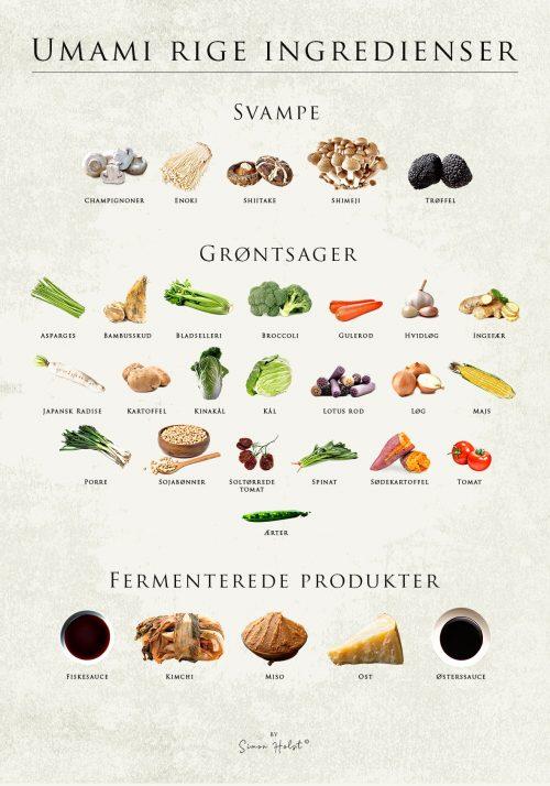 Umami Rige Ingredienser