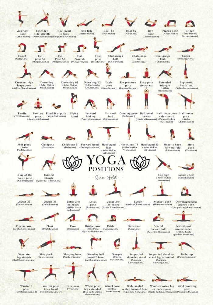 Yoga plakat (original baggrund)