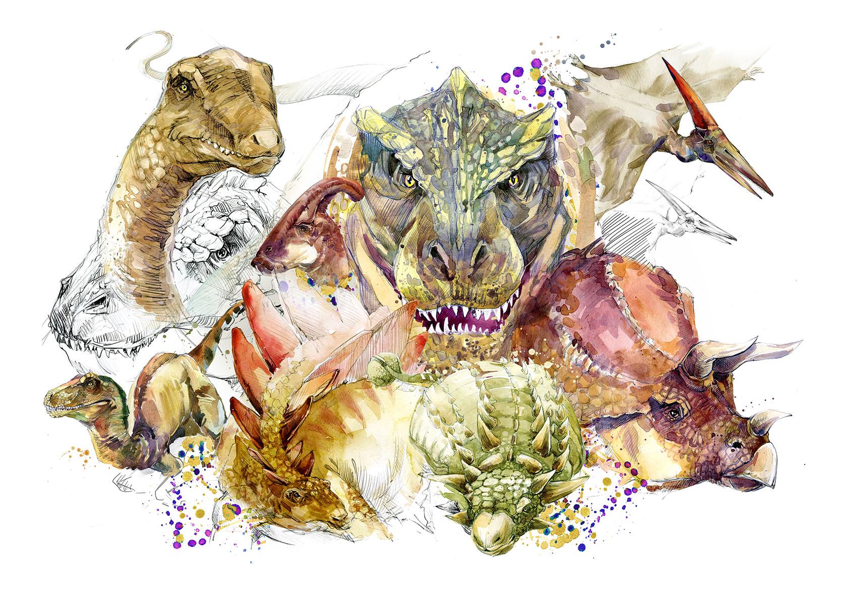dinosaur kort