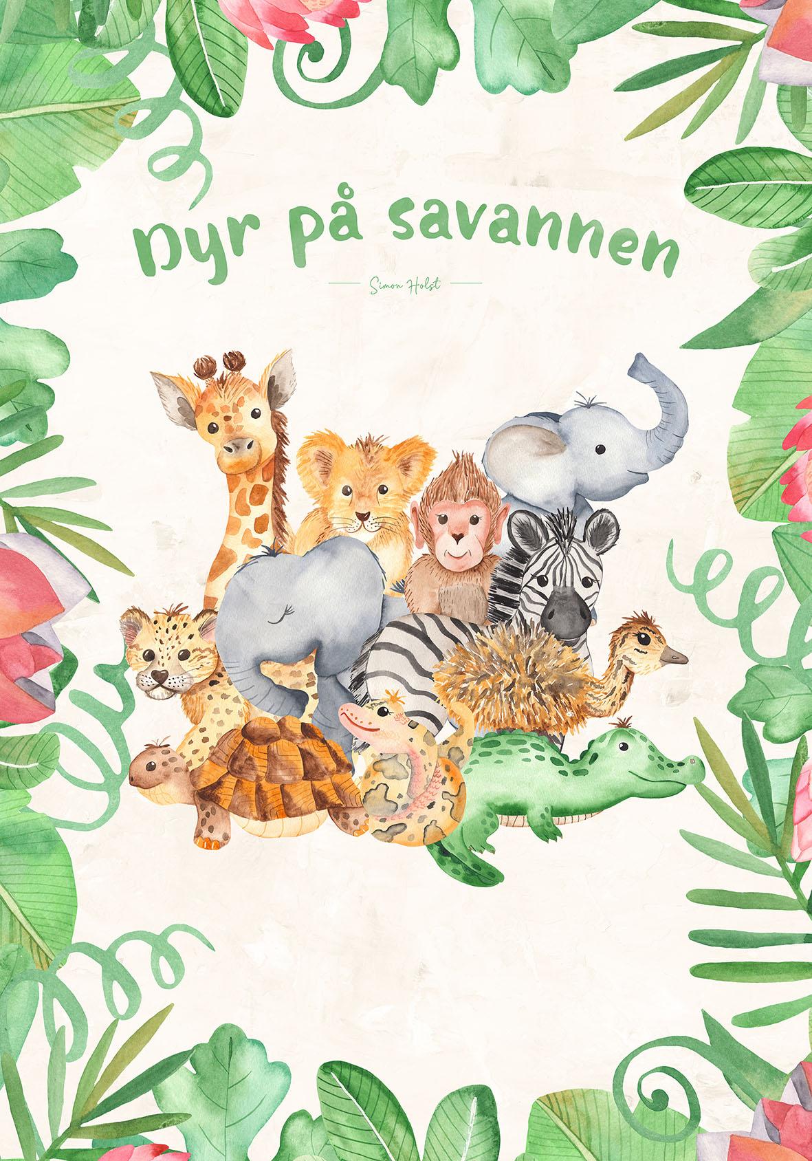 Dyr på savannen