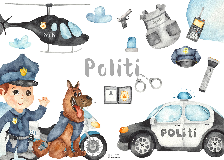 Politi kort